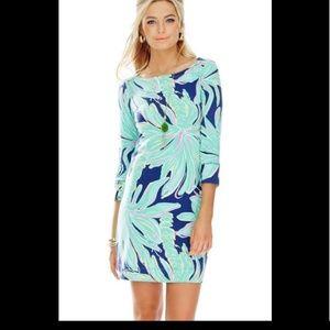 Lilly pulitzer sophie dress tiger palm L